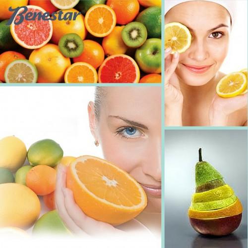 higiene facial benestar con ácidos frutales