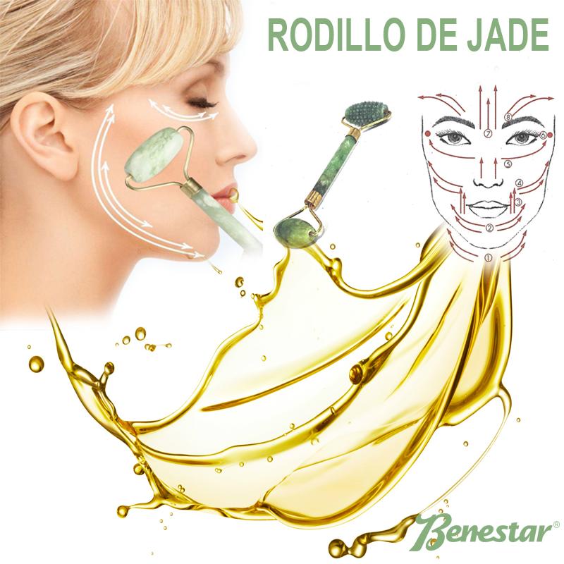 El rodillo de jade energ a mineral para alisar tu piel - Rodillo para lacar ...