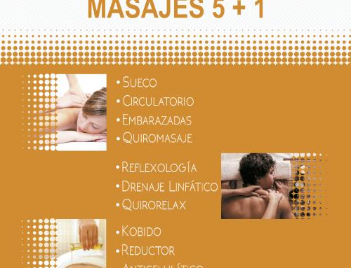 Noviembre mes del masaje en Benestar