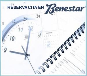 reserva cita por email o teléfono Benestar Centro estética Barcelona
