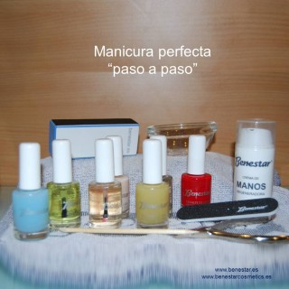 tratamiento manicura Benestar centro de estética Barcelona