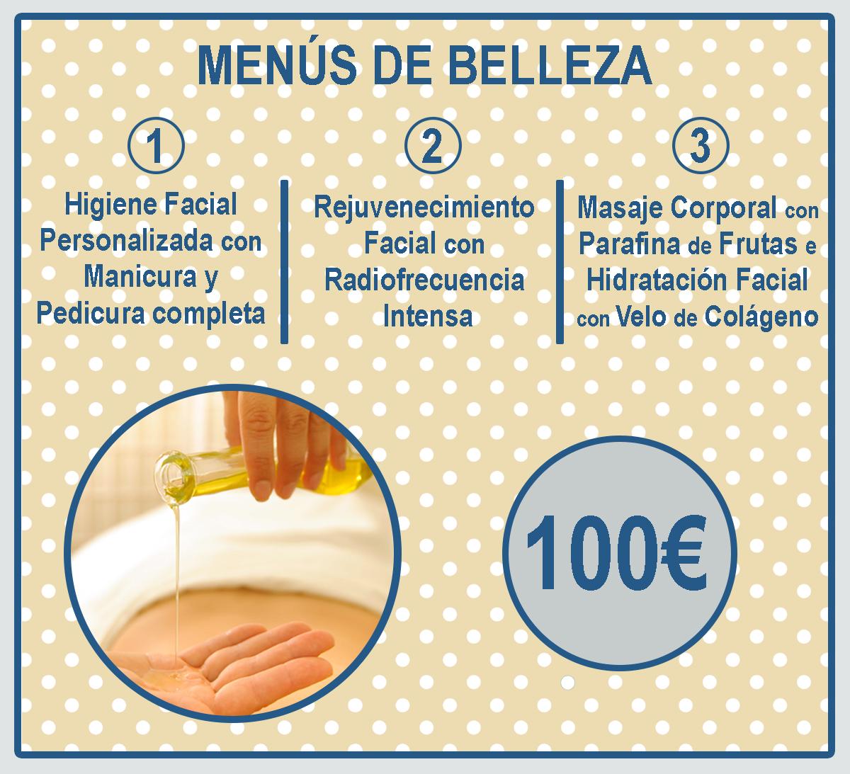 MENU DE BELLEZA